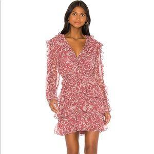 Bardot Alessia Frill Dress in Ditsy Floral